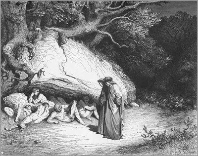 El limbo de las almas inocentes, de Gustav Doré