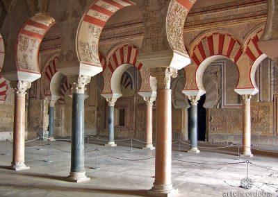 Interior del Salón Rico en Medina Azahara