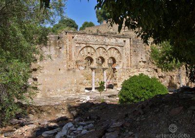 Portada de la Vivienda de la Alberca en Medina Azahara