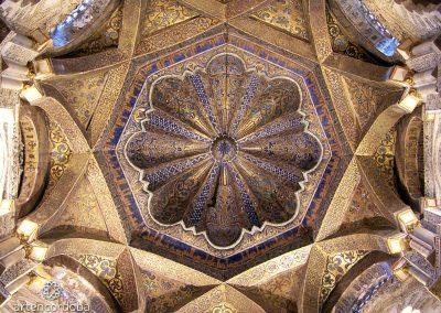 Cúpula del Mihrab de la Mezquita de Córdoba