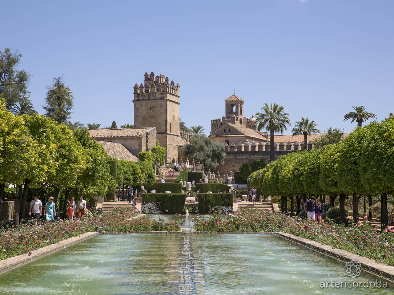 Los Jardines del Alcázar de los Reyes Cristianos