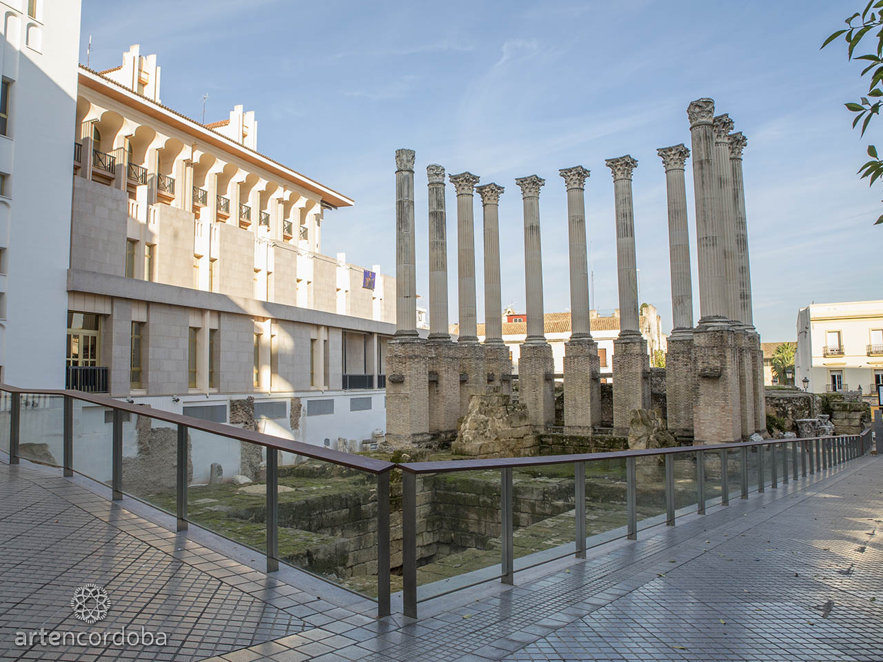 Templo romano de la calle Claudio Marcelo de Córdoba