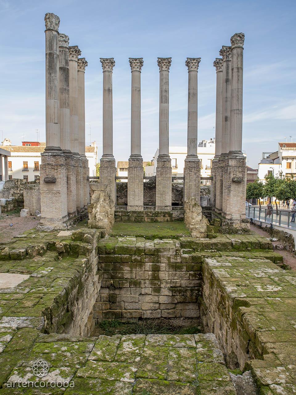 Templo romano de la Calle Claudio Marcelo, Córdoba