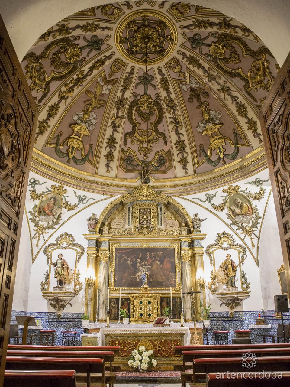 Capilla del Sagrario de la Iglesia de Santa Marina en Córdoba