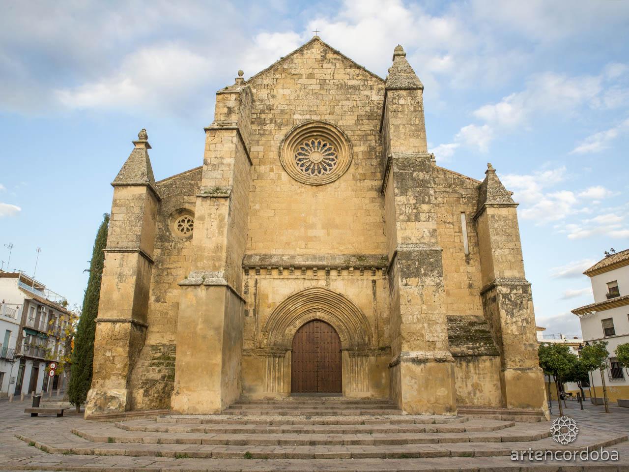 Fachada de la Iglesia de Santa Marina en Córdoba
