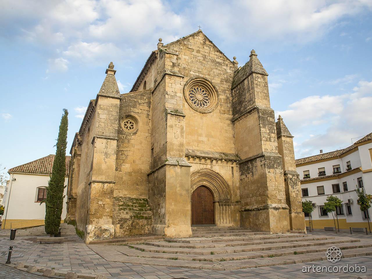 Iglesia fernandina de Santa Marina de Aguas Santas en Córdoba