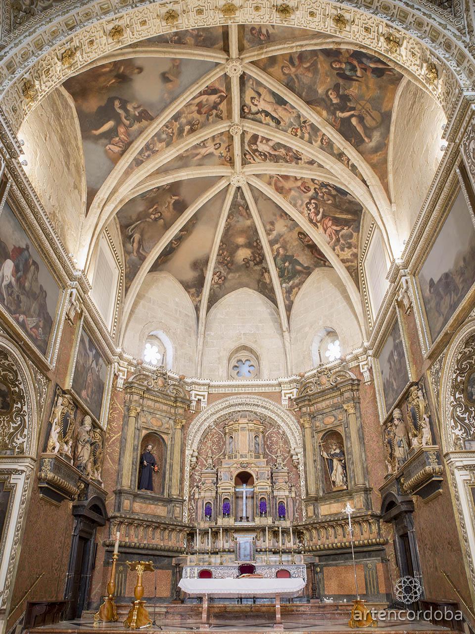 Altar Mayor de la iglesia de San Agustín de Córdoba