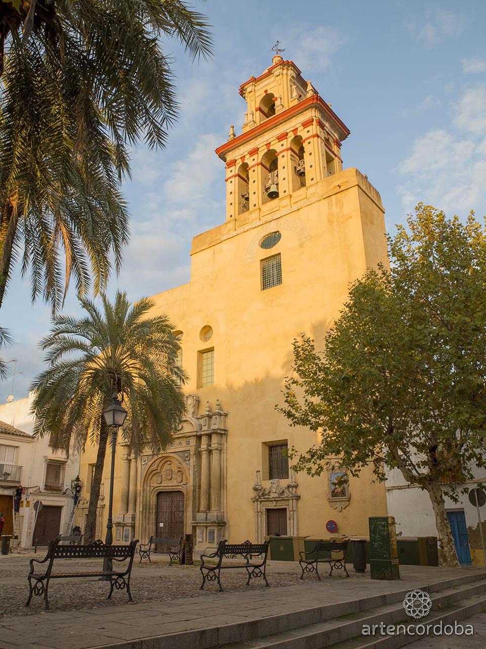 Fachada de la iglesia de San Agustín de Córdoba