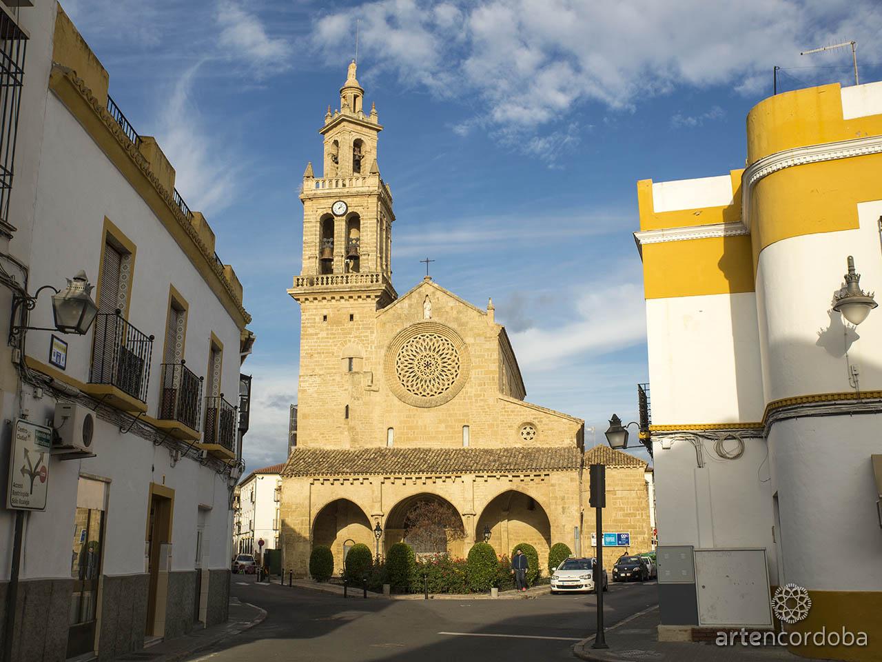 Fachada de la Iglesia de San Lorenzo en Córdoba