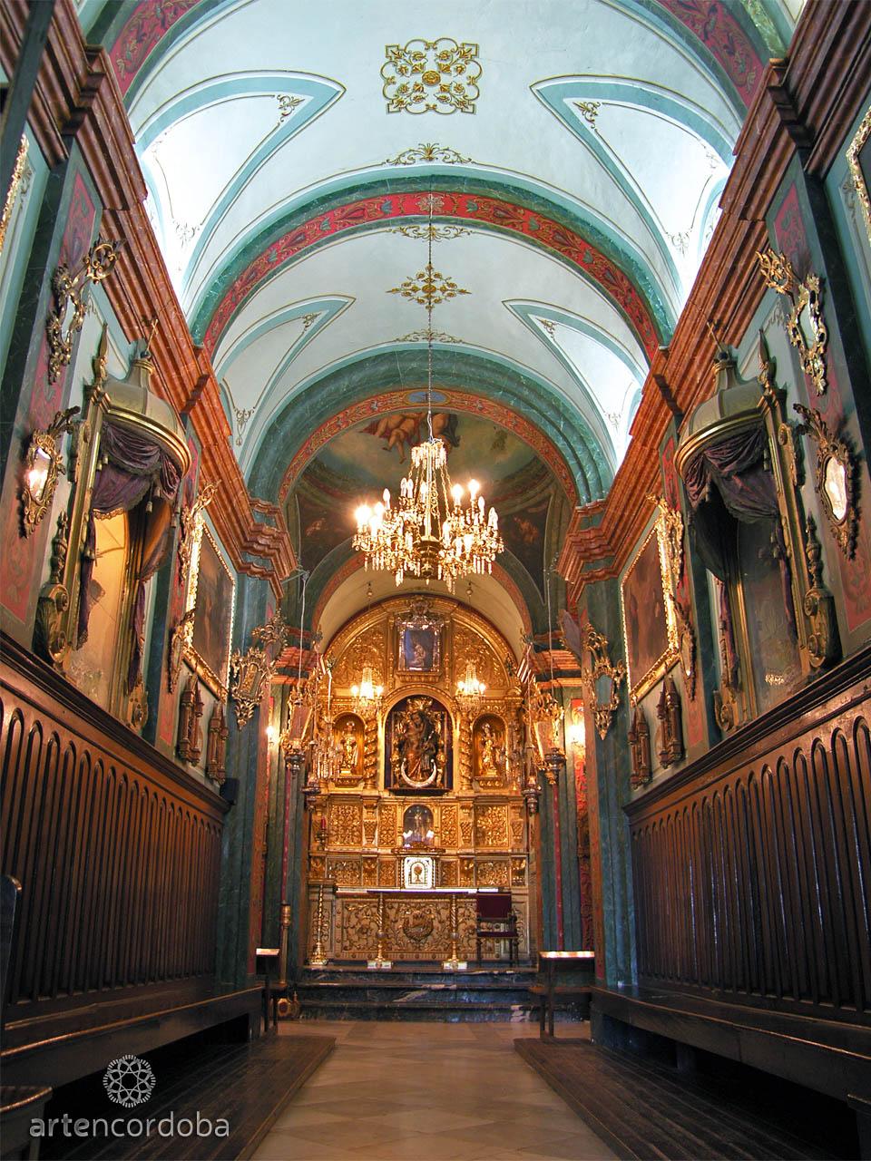 Interior de la iglesia de las Ermitas de Córdoba