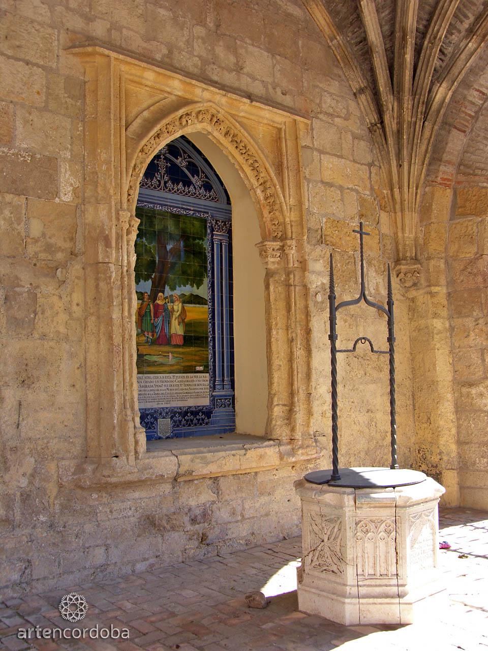 Brocal de Pozo en el Humilladero del Santuario de la Fuensanta en Córdoba