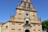 Fachada de la iglesia del Santuario de la Fuensanta en Córdoba