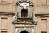 Detalle de la Portada de la iglesia del Santuario de la Fuensanta en Córdoba