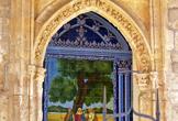 Nicho del Humilladero del Santuario de la Fuensanta en Córdoba