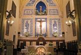 Altar Mayor de la iglesia del Santuario de la Fuensanta en Córdoba