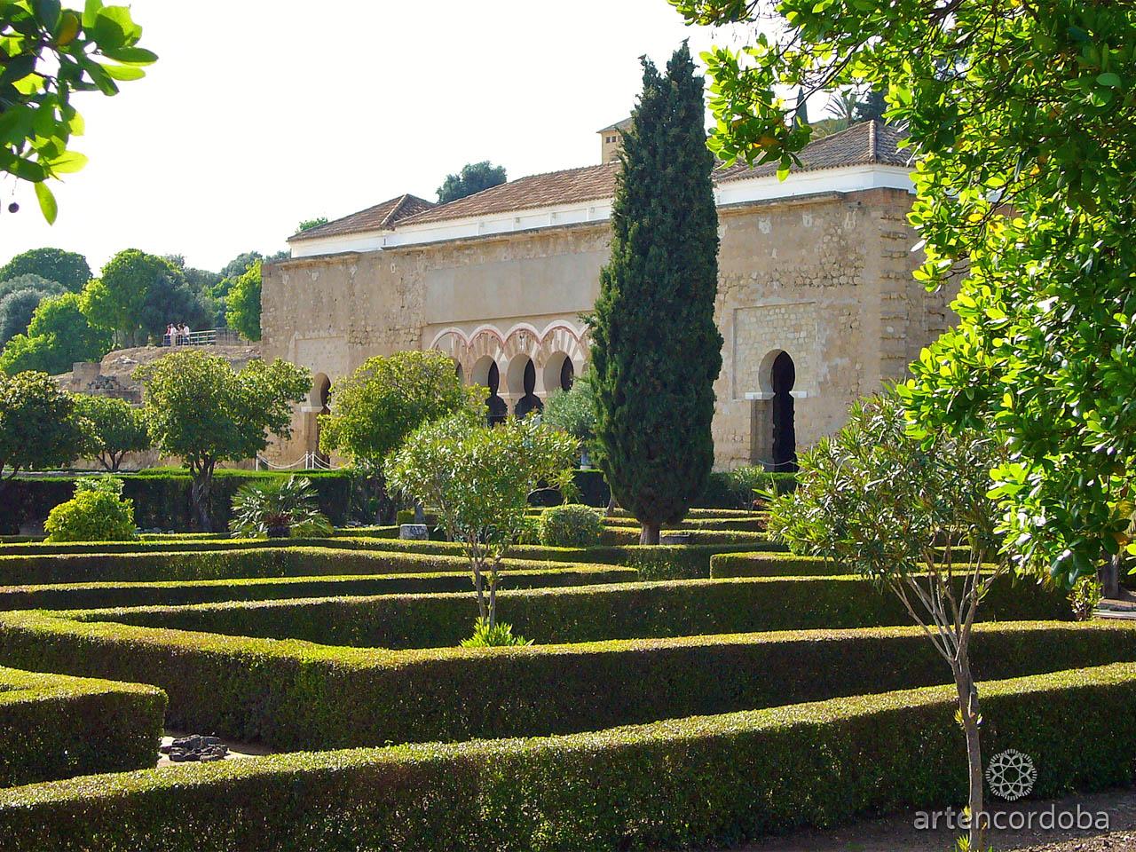El 'Jardín Alto' está situado frente al Salón Rico de Medina Azahara