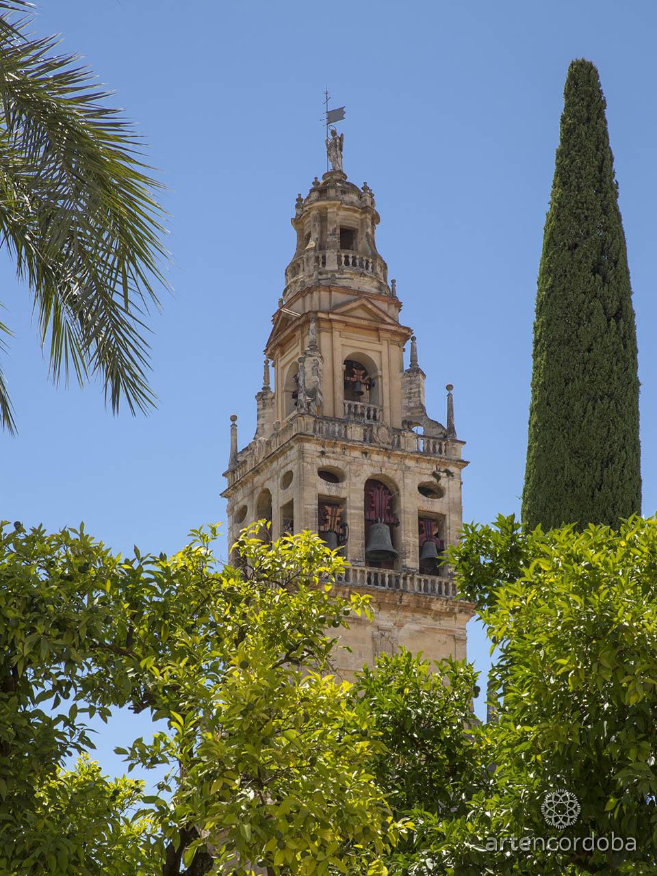 Cuerpo de campanas de la Torre-Campanario de la Mezquita-Catedral de Córdoba