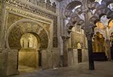 Detalle del Mihrab y la Macsura en la Mezquita-Catedral de Córdoba