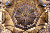Cubierta del espacio que antecede al Mihrab en la Mezquita-Catedral de Córdoba