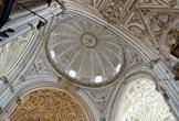 Detalle de la cubierta del crucero de la Mezquita-Catedral de Córdoba