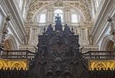 El Trono Episcopal en la Sillería de Coro de la Mezquita-Catedral de Córdoba