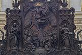 La 'Ascensión de Cristo' preside el Trono Episcopal en la Sillería de Coro de la Mezquita-Catedral de Córdoba