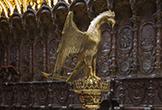 Facistol ubicado en el Coro de la Mezquita-Catedral de Córdoba