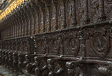 Detalle de la Sillería de Coro de la Mezquita-Catedral de Córdoba