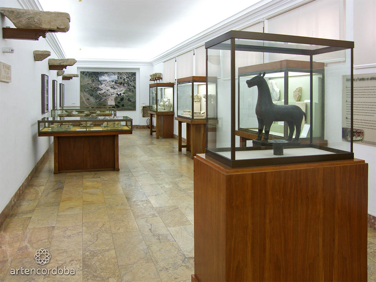 Salas de al-Andalus del Museo Arqueológico de Córdoba