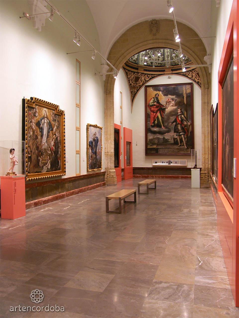 Sala 'Arte Barroco Cordobés' en el Museo de Bellas Artes de Córdoba