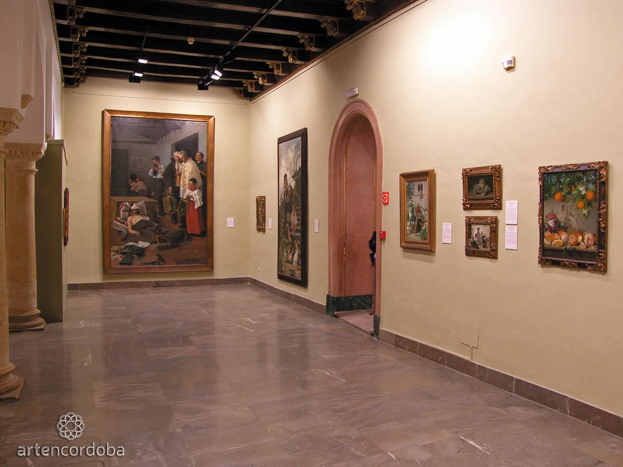 Sala 'Arte Cordobés de los siglos XVIII y XIX' en el Museo de Bellas Artes de Córdoba