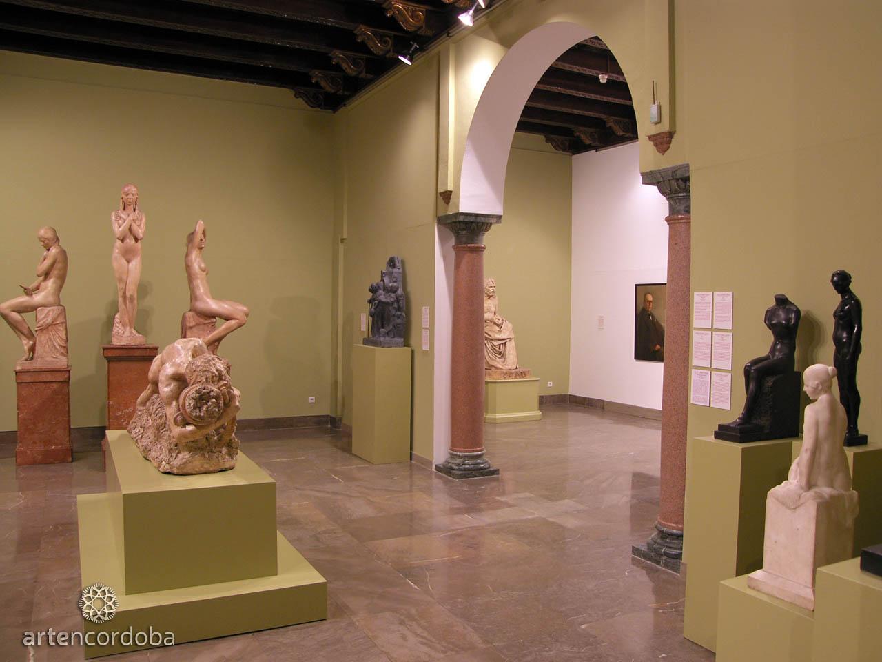Sala 'Arte Cordobés del siglo XX' en el Museo de Bellas Artes de Córdoba