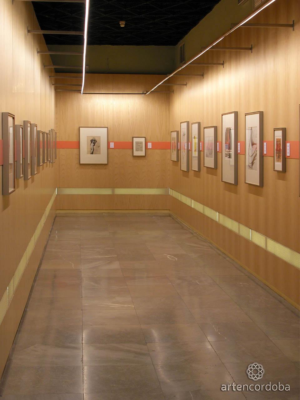 Sala 'Dibujos y Estampas' en el Museo de Bellas Artes de Córdoba