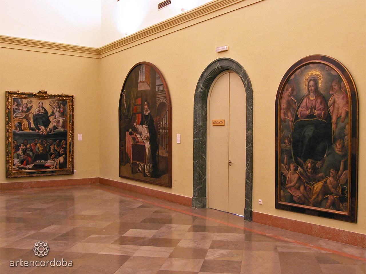Sala 'Arte Manierista Cordobés' en el Museo de Bellas Artes de Córdoba
