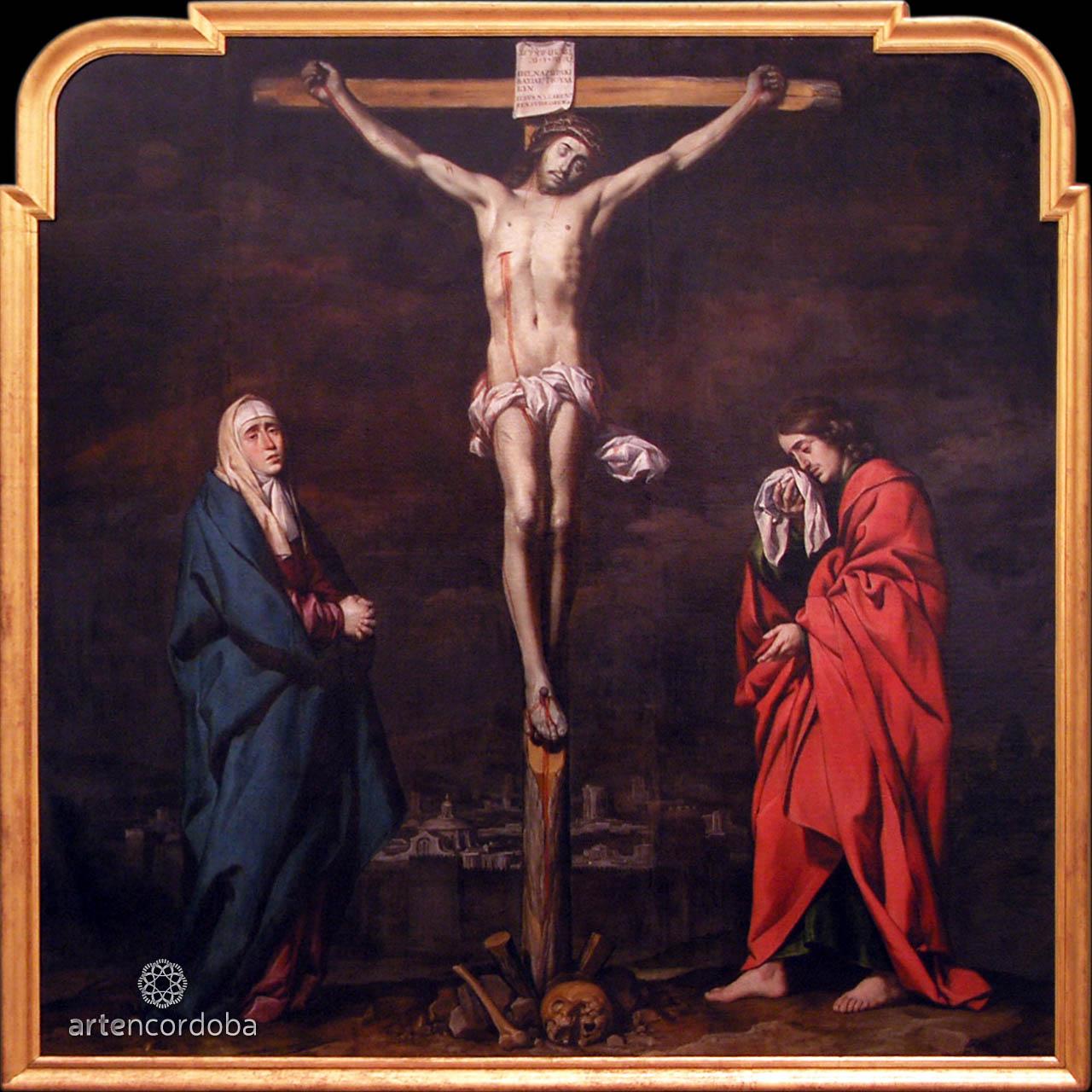 Calvario de la Inquisición, óleo de Antonio del Castillo Saavedra