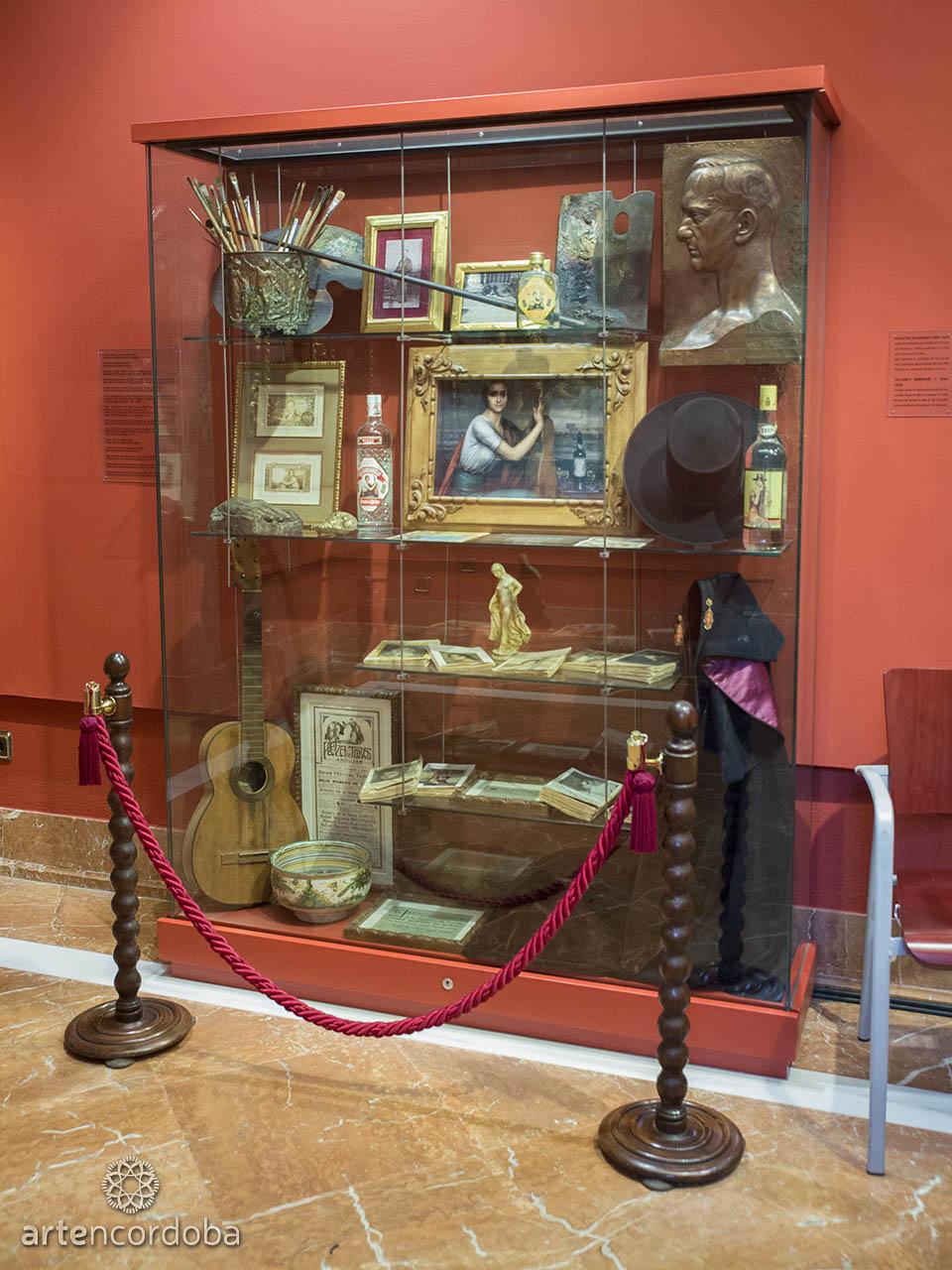Detalle de la Sala 'Entorno Familiar' en el Museo Julio Romero de Torres