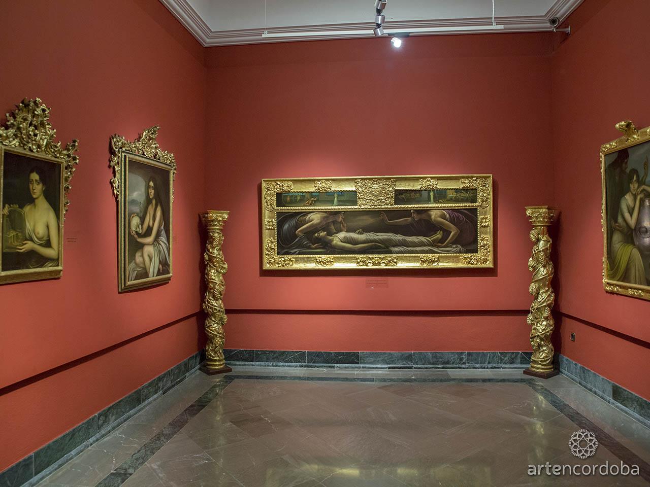 Detalle de la Sala 'La Capilla' en el Museo Julio Romero de Torres