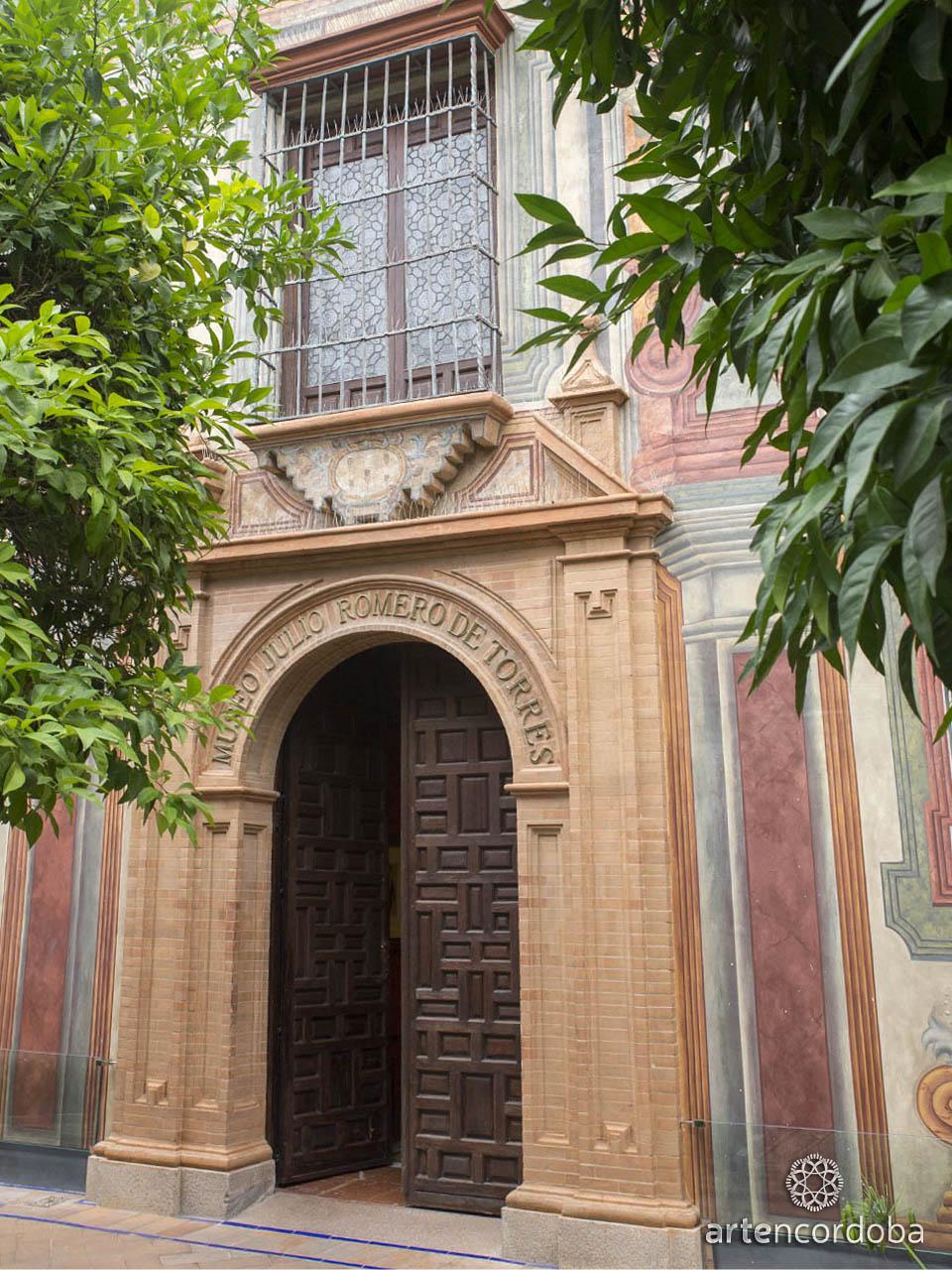Entrada principal al Museo Julio Romero de Torres