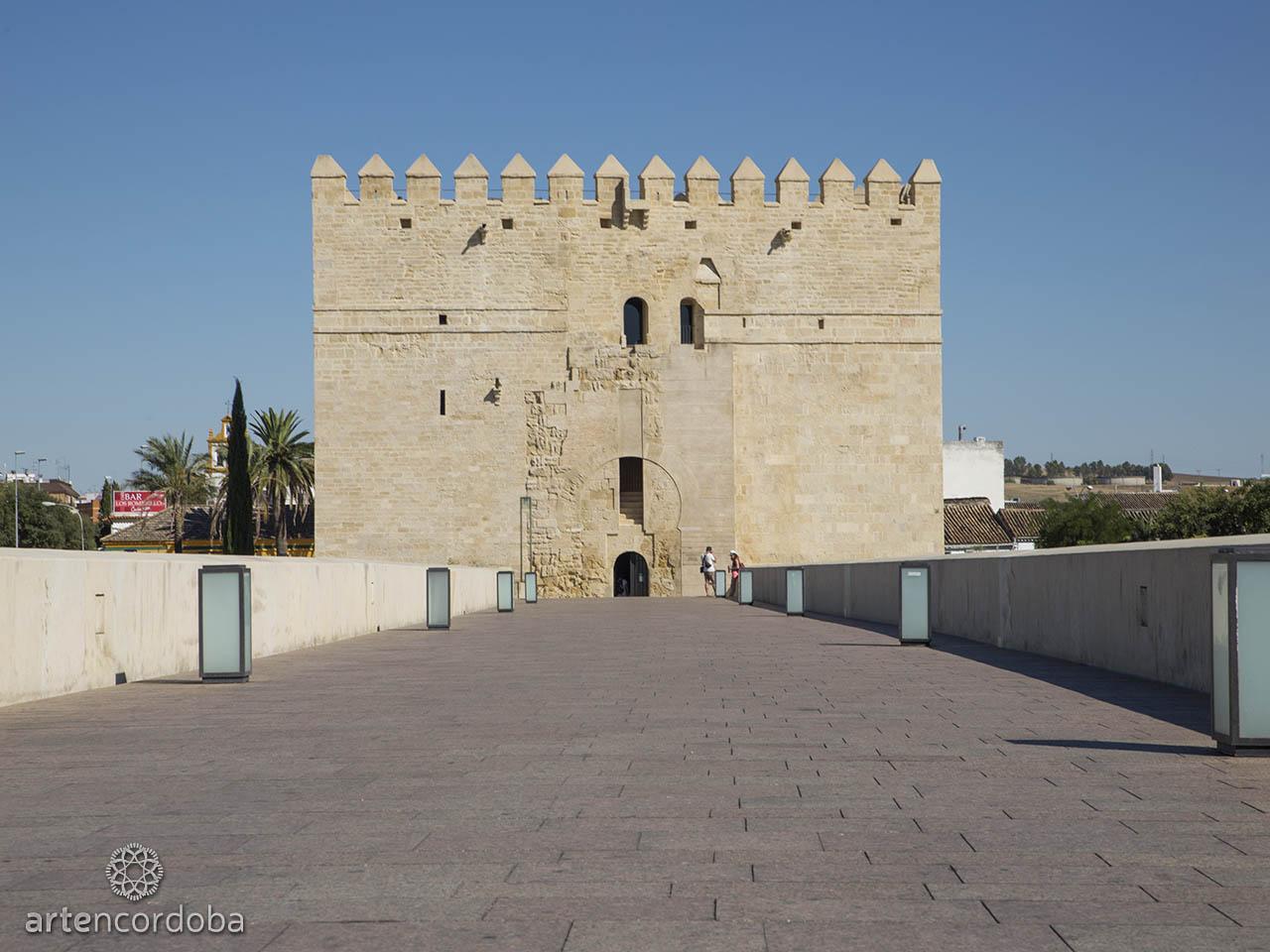 Torre de la Calahorra desde el puente romano
