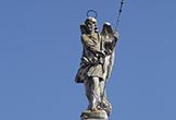 El Arcángel Custodio corona el Triunfo de San Rafael de Verdiguier
