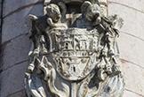 Escudo del Obispo Barcia en el Triunfo de San Rafael de Verdiguier
