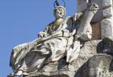 'Santa Victoria' representada en el Triunfo de San Rafael de Verdiguier