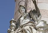 'Santa Bárbara' representada en el Triunfo de San Rafael de Verdiguier