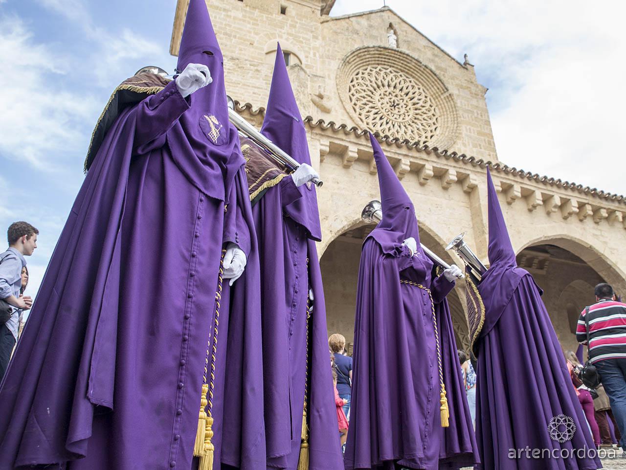 Nazarenos de la Hermandad del Calvario - Semana Santa de Córdoba