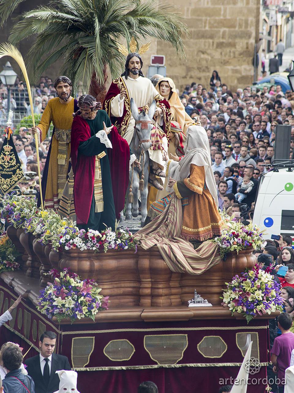 Nuestro Padre Jesús de los Reyes - Hermandad de la Entrada Triunfal (Borriquita) de Córdoba