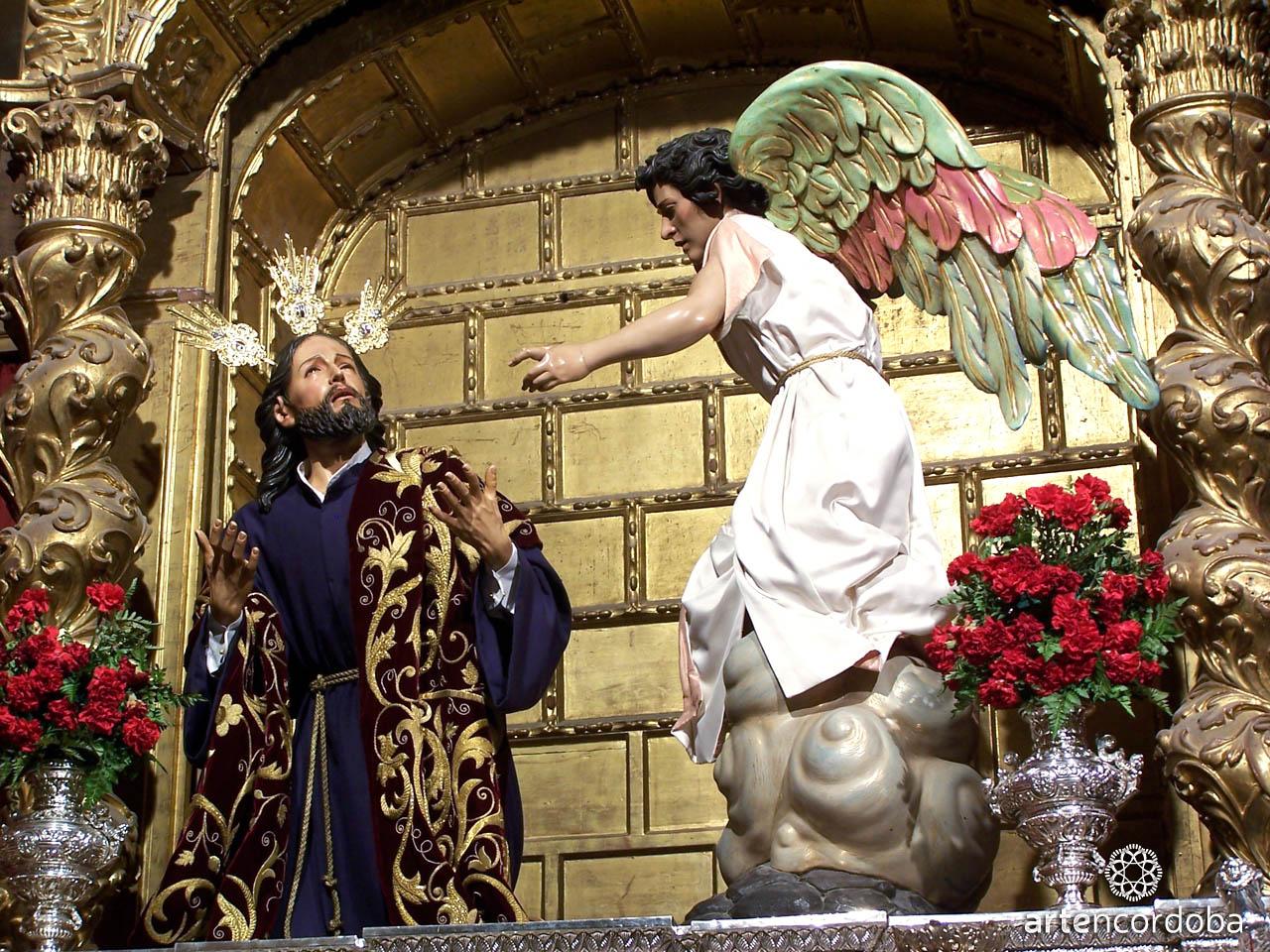 Nuestro Padre Jesús de la Oración en el Huerto y el Ángel - Hermandad del Huerto en Córdoba