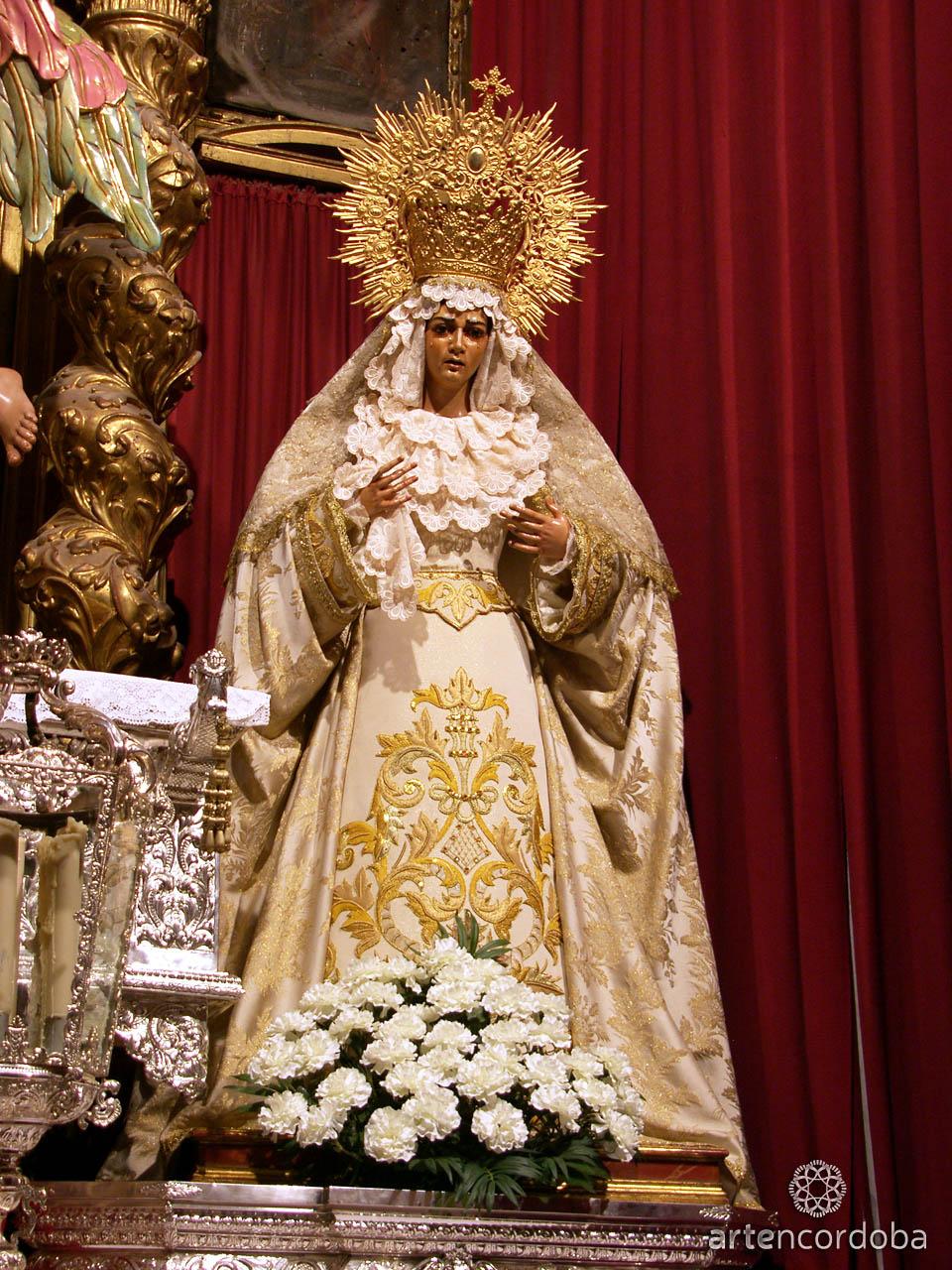 María Santísima de la Candelaria - Hermandad del Huerto en Córdoba