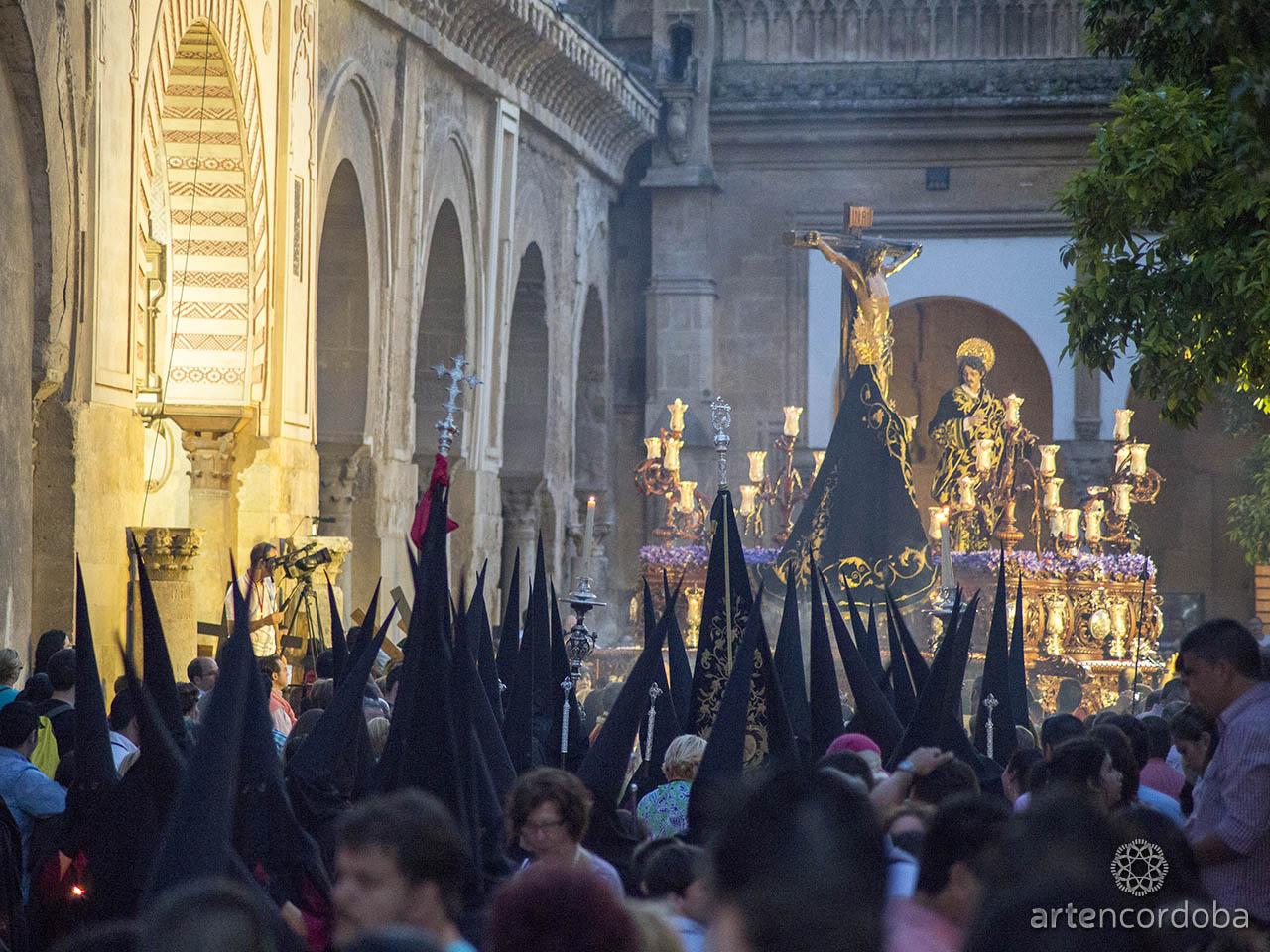 Santísimo Cristo de las Penas en la Catedral - Hermandad de las Penas de Santiago en Córdoba