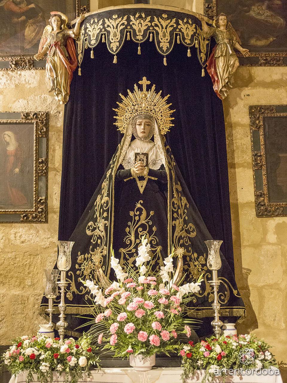 Nuestra Señora Madre de Dios en sus Tristezas - Hermandad del Remedio de Ánimas en Córdoba