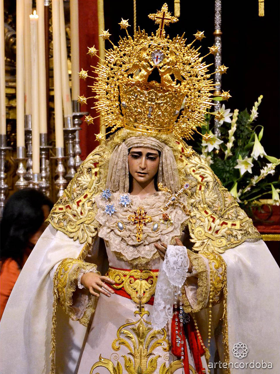 María Santísima de la Amargura - Hermandad del Rescatado en Córdoba